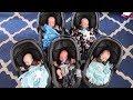 Babies' First Outing - Scott Quintuplets