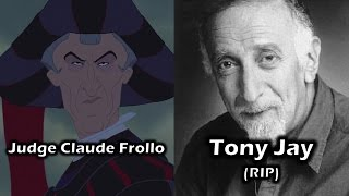 Characters and Voice Actors - The Hunchback of Notre Dame