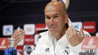 Rueda De Prensa De Zidane Antes Del Real Madrid-Betis I MARCA