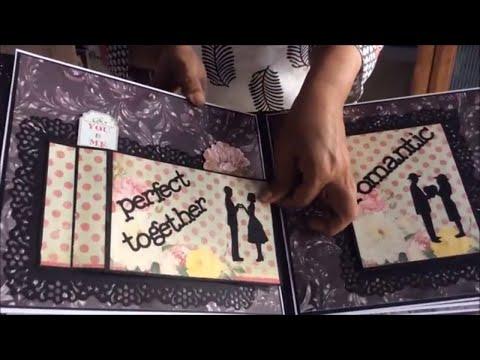 Romantic Scrapbook Diy Cutest Birthday Scrapbook Ideas Handmade Love