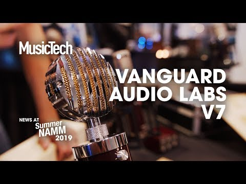 Where's your head at? Vanguard Audio Labs show their V7 interchangeable capsule mic #SummerNAMM2019