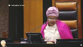 Baleka Mbete Already Calls  Cyril Ramaphosa Mr PRESIDENT - Funny