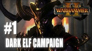 Total War: Warhammer 2 - Mortal Empires - Dark Elf Campaign #1