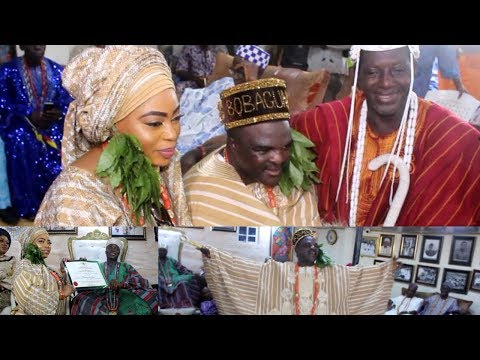 GROUP OF OBAS ENDORSED ALH.ABASS AKANDE OBESERE AS NEW AGBAAKIN BOBAGUNWA OF YORUBA LAND
