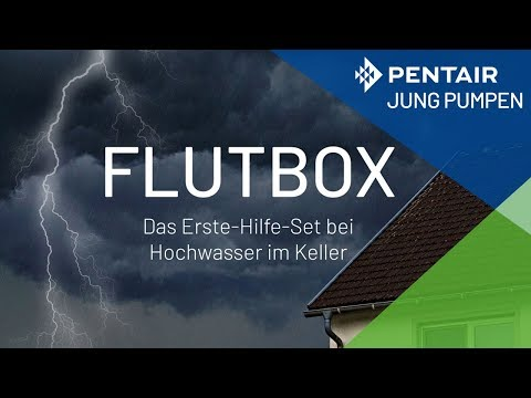Wie funktioniert die FLUTBOX? Erste-Hilfe-Set, wenn der Keller unter Wasser steht