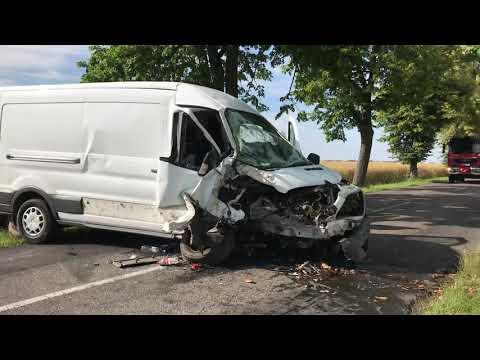 Wideo1: Wypadek na trasie Czajkowo - Aleksandrowo