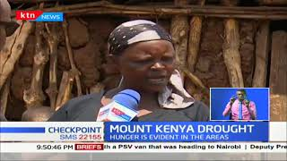 Mount Kenya region experiencing intense drought as rivers dry up