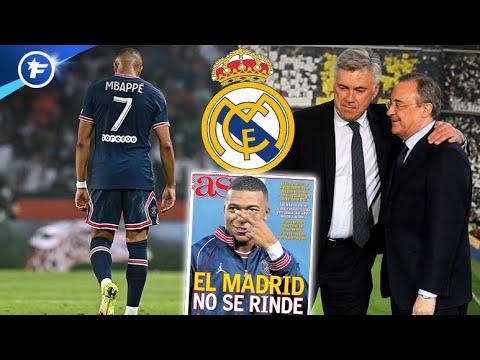 Le Real Madrid ne veut pas lâcher l'affaire pour Kylian Mbappé   Revue de presse