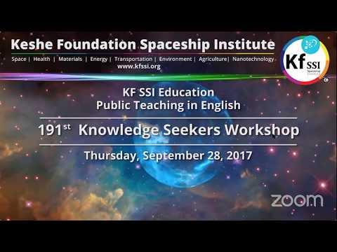 191st Knowledge Seekers Workshop - Sept 28, 2017
