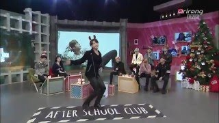 151222 BTS J_hope and Jungkook dance to girls group ( EXID , TWICE )After School Club Ep191