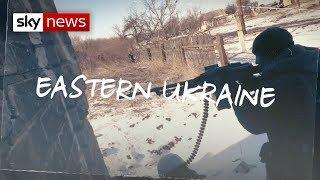 On the frontline in Ukraine