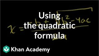 Quadratic Formula 1