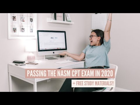 How I Passed The NASM CPT in One Month 2020 | free study ...