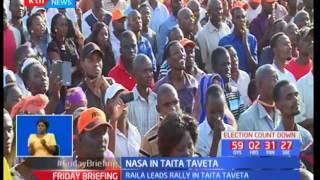 NASA leaders challenge IEBC to take action against President Uhuru Kenyatta over IDP cheques