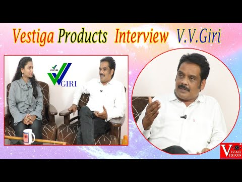 Vestiga Products | Marketing Interview | V.V.Giri | Visakhapatnam | Vizagvision