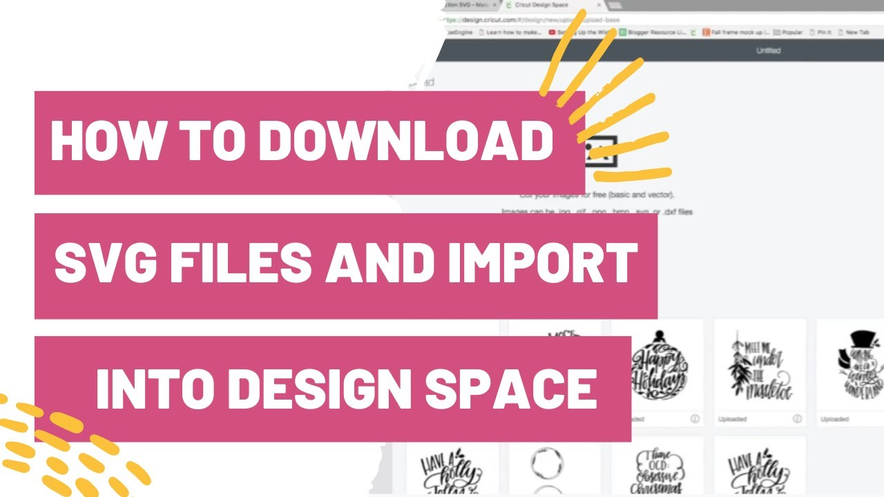 Download How To Download SVG Files and Import Into Cricut Design ...