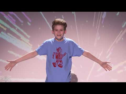 America's Got Talent 2017 Merrick Hanna Full Clip Live Shows S12E15