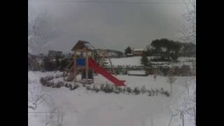preview picture of video 'Morlupo Immagini Nevicata Febbraio 2012'