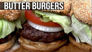 Butter Burgers recipe by the BBQ Pit Boys