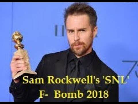 Sam Rockwell's 'SNL' F Bomb Didn't Get Censored Everywhere & Twitter Is In Stitches