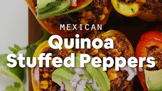 Mexican Quinoa Stuffed Peppers | Minimalist Baker Recipes