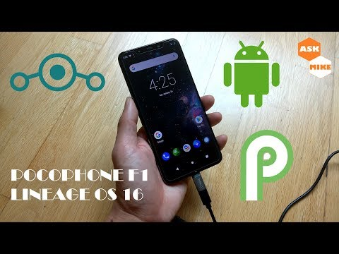 Flash Lineage OS 16 Android 9 Pie Pocophone F1 - Ask Mike
