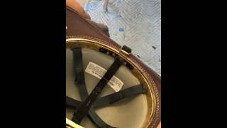 How to remove the ratchet from a leather helmet N5a, N6a