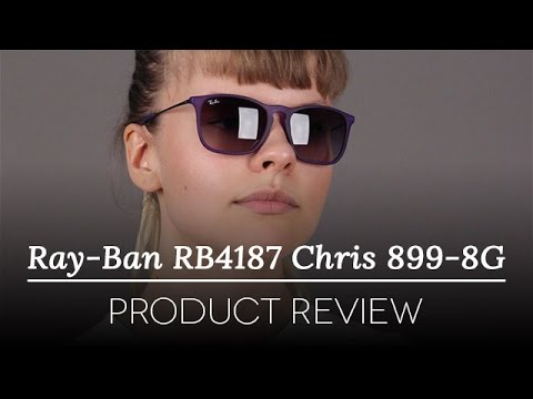 Ray-Ban RB4187 Chris 899/8G Sunglasses Review