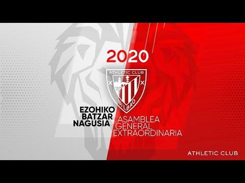 Ezohiko Batzar Nagusia 2020 | Athletic Club (zeinu hizkuntza)