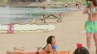 Mire las mejores bromas realizadas en la playa
