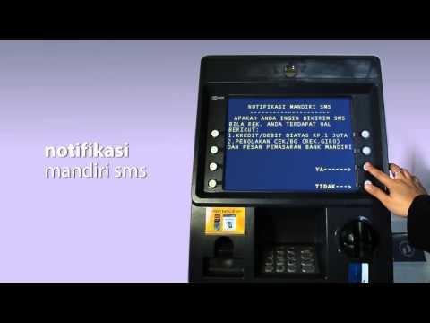 Video tutorial | mandiri sms | pendaftaran | 2014