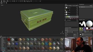 импорт из Substance Painter в 3ds max corona render
