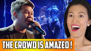 Marcelito Pomoy - The Prayer Reaction | America's Got Talent (AGT) Champions! Repping Philippines!