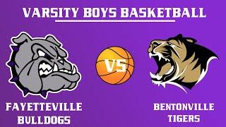 Boys Varsity Basketball l Bentonville @ Fayetteville