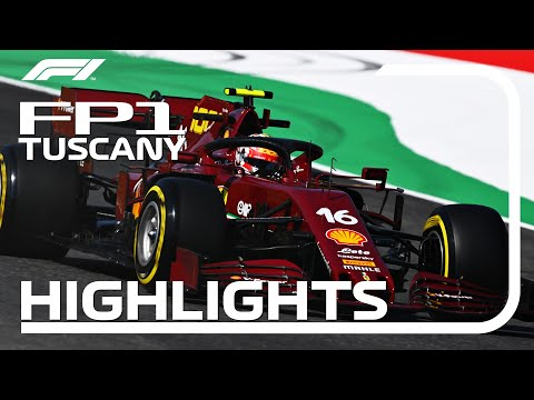 F1 2020 第9戦トスカーナGP(ムジェロサーキット)フリープラクティス1ハイライト動画