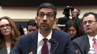 Google CEO Sundar Pichai questioned on tracking of users
