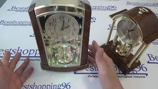 Видео обзор настольных будильников с маятником вертушкой La Minor 6505 и La Minor