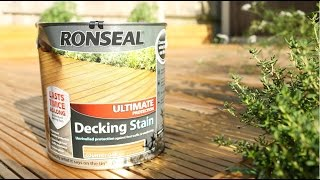 Staining New DIY Decking | The Carpenter's Daughter