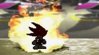Super Mario Bros Z - Fire Sonic Transformation Battle [1080p]
