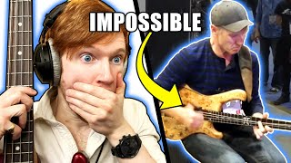 Is This The HARDEST Slap Bass Solo EVER?!