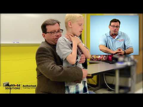 Choking Child First Aid | CPR Certification Institute