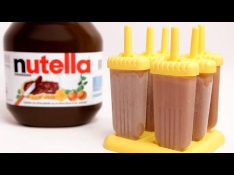 Nutella Popsicle Recipe – Laura Vitale – Laura in the Kitchen Episode 769