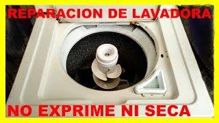 Lavadora Whirlpool No exprime No seca
