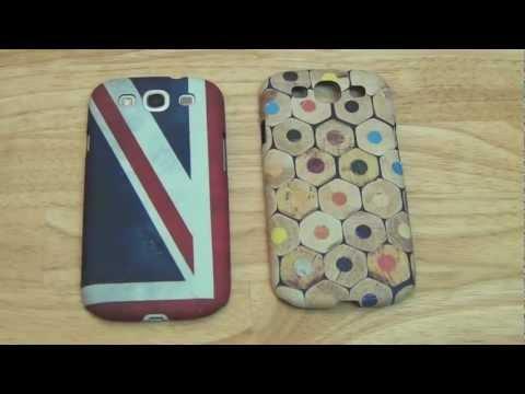 Protector Samsung Galaxy S 3 modelo Lápices y Union Jack de Proporta