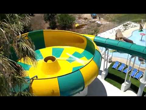 Float Tornado Water Slide