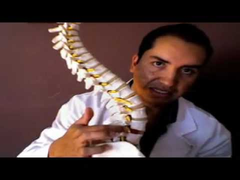 La técnica la operación en sheynyy el departamento de la columna vertebral