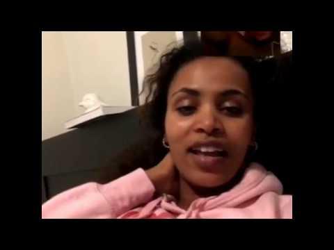 My facebook live....ON Tigist Addis Ethiopia