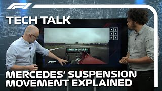 Mercedes' Suspension Movement Explained | F1 TV Tech Talk | Crypto.com.