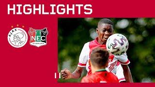 Highlights | Ajax O15 - NEC O15