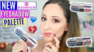 NEW ESSENCE EYESHADOW PALETTE 2018 | TO THE MOON AND BACK BOX 04 | SWATCHES, DEMO, WEAR TEST, REVIEW
